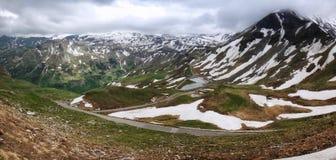 Grossglockner. High alpine road, , Austria Stock Image
