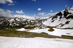 Grossglockner High Alpine Road Royalty Free Stock Images
