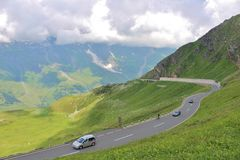 Grossglockner High Alpine Road, Austria Royalty Free Stock Photography