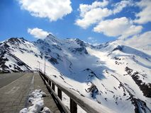Grossglockner high alpine road, National Park Hohe Tauern, Austria Stock Photo