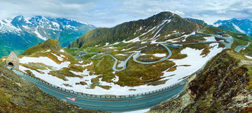 Grossglockner High Alpine Road Royalty Free Stock Image