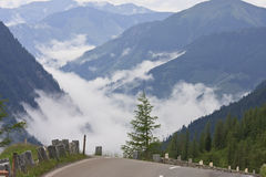 Grossglockner High Alpine Road in Tyrol, Austria Royalty Free Stock Photography