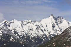 Grossglockner, highest mountain of Austria Royalty Free Stock Images