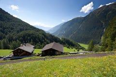 Grossglockner Hochalpenstrasse in Alpen, Oostenrijk Royalty-vrije Stock Fotografie