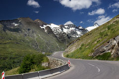Grossglockner - Hochalpenstrasse Stock Photos