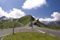 Grossglockner hohe alpine Straße Lizenzfreie Stockbilder