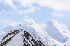 Grossglockner mountain Royalty Free Stock Photos