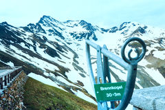 Grossglockner mountain top Royalty Free Stock Image