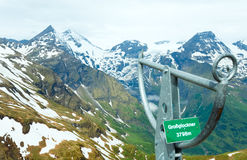 Grossglockner mountain top Stock Photo