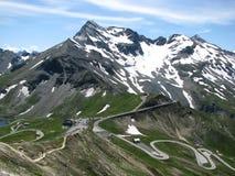 Grossglockner nos alpes Fotografia de Stock Royalty Free