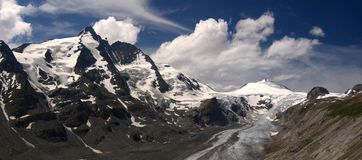 Grossglockner panorama Royalty Free Stock Photo