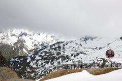 Grossglockner Panoramabahn per montare Schareck Fotografie Stock Libere da Diritti