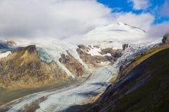 Grossglockner with Pasterze glacier, Alps, Austria Royalty Free Stock Images