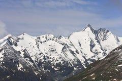 Grossglockner, più alta montagna dell'Austria Immagini Stock Libere da Diritti
