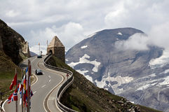 Grossglockner road Stock Photos