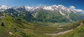 Grossglockner street Royalty Free Stock Photography