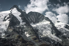 Grossglockner summit in Austrian Alps Royalty Free Stock Image