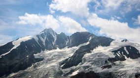 Grossglockner Time Lapse Motion stock video footage