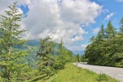 Grossglockner Wysoka Alpejska droga, Austria Obraz Stock