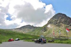 Grossglockner Wysoka Alpejska droga, Austria Zdjęcia Royalty Free