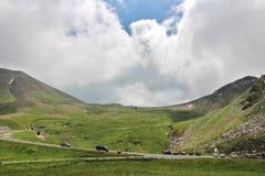 Grossglockner Wysoka Alpejska droga, Austria Obraz Royalty Free