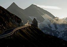 grossglockner wysokogórskiego w Zdjęcie Royalty Free