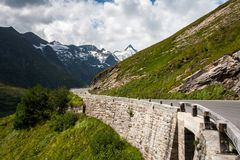 Grossglocknerstrasse - High Tauern Stock Photo