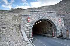 高山grossglocnkner公路 免版税库存图片