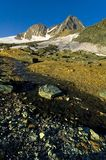 Grossglokner peak and wall. Stock Images