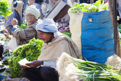 Grossistgrönsakmarknad i Agra, Indien Arkivbilder