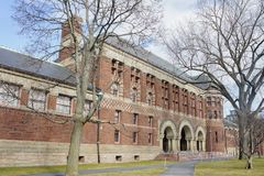 Grossman Library of Harvard University. At Boston, Massachusetts, United States Royalty Free Stock Image