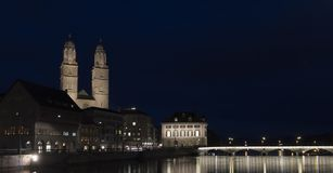 Grossmuenster Royalty Free Stock Photography