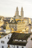The Grossmunster (great minster) church, Zurich Stock Photography