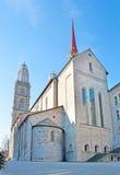 Grossmunster Kirche近星点  免版税库存照片