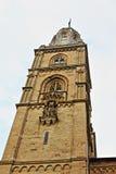 Grossmunster torn Zurich Fotografering för Bildbyråer