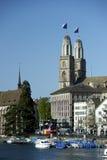 grossmunster Zurich Obraz Royalty Free