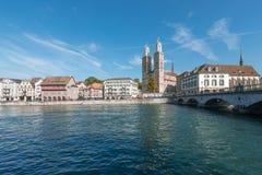 Grossmunster Zurich Stock Images