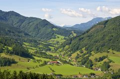 Grossraming in Upper Austria Royalty Free Stock Images