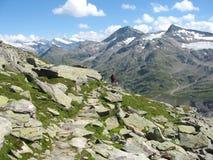 Grossvenediger - alpine landscape Royalty Free Stock Photography
