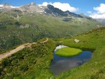 Grossvenediger - paisagem alpina Imagens de Stock Royalty Free