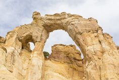 Grosvenor Arch. Double arch off of Cottonwood Canyon Road in Grand Staircase Escalante National Monument near  Utah Stock Photo
