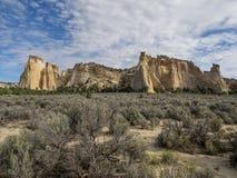 Grosvenor Arch, Utah stock photo