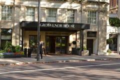 Grosvenor House JW Marriott Hotel Stock Image