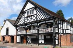 Grosvenor Ruderclub. Chester. England Lizenzfreies Stockfoto