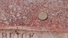 1 grosz - geld van Polen Stock Afbeeldingen