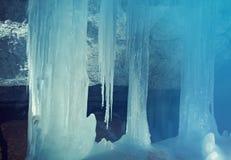Grot of Golubinskaya Cave.A. Rhangelsk region Stock Photo