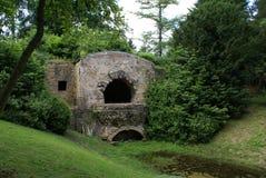 Grota, Stowe krajobrazu ogród, Stowe, Anglia Zdjęcie Stock