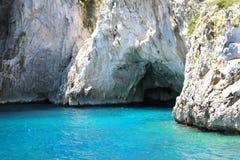Grota w Capri Zdjęcie Royalty Free