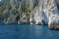 Grota w Capri Zdjęcia Royalty Free