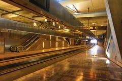 grote τραμ σταθμών σημαδιών Στοκ Εικόνες